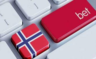 Norjan lippu tietokoneen näppäimistössä